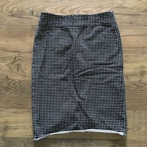 BANANA REPUBLIC Geometric Print Pencil Skirt 2P